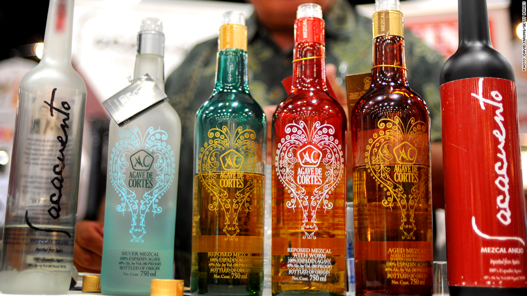 exotic spirits mezcal