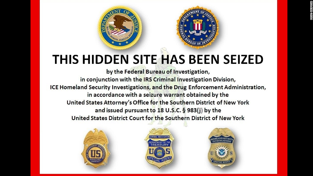 silk road site shut down