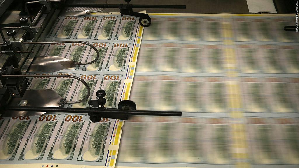 printing money debt ceiling