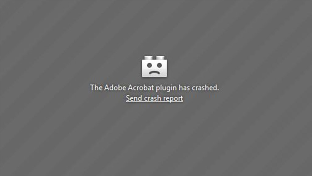 adobe crash