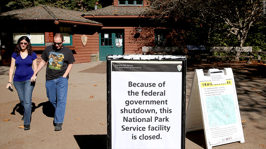 national park shutdown