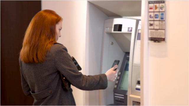 Cardless ATMs allow you to get cash with your phone