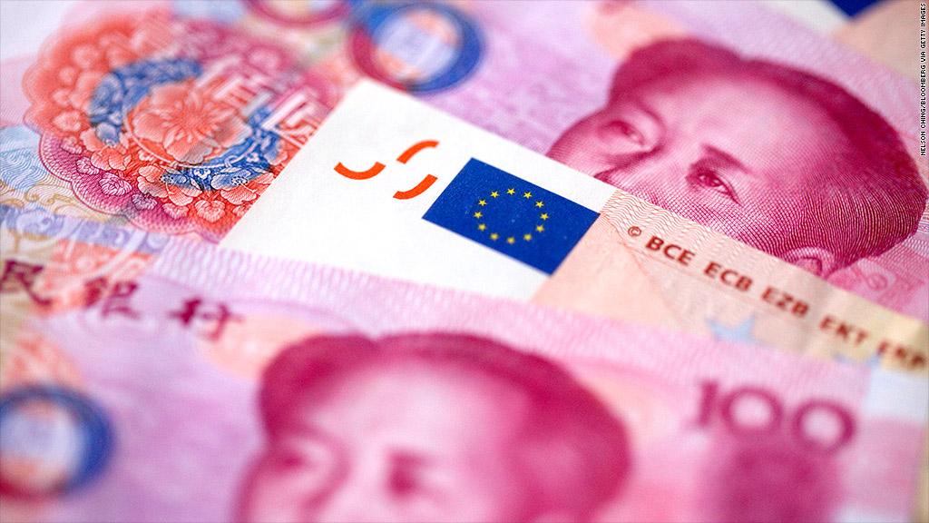 chinese yuan euro