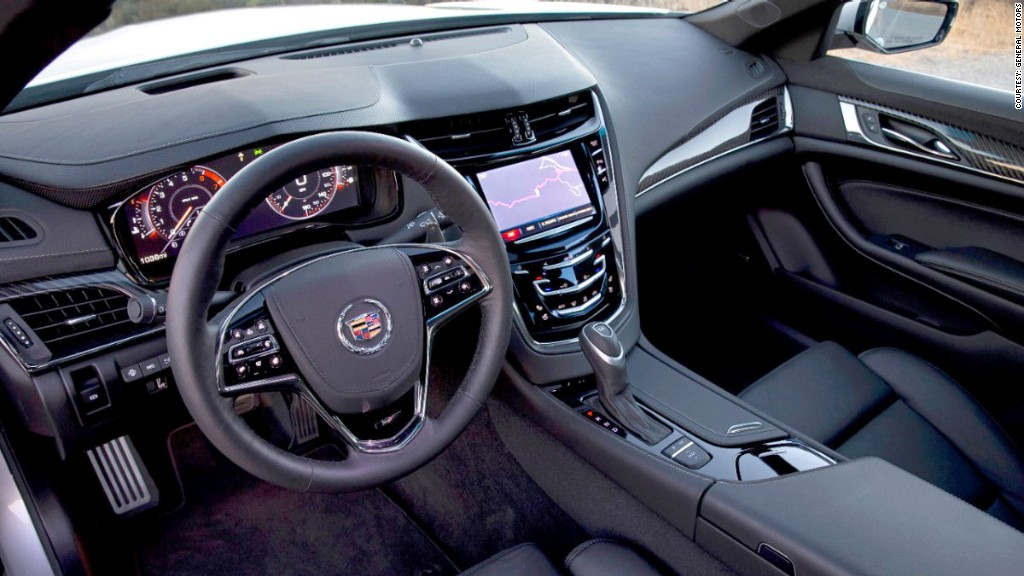 Minor Interior Missteps New Cadillac Cts American Luxury Is Back
