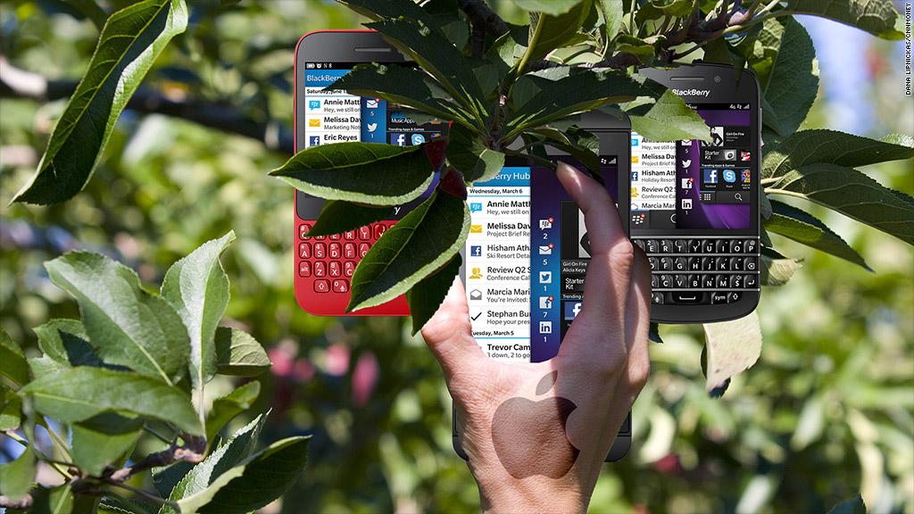 apple poaching blackberry employees