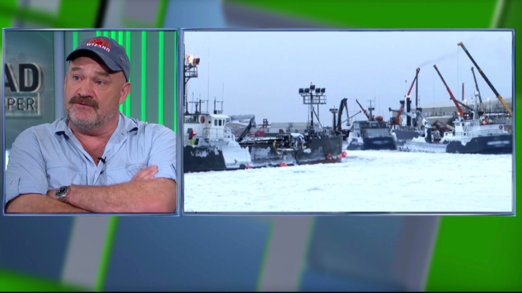 Shutdown stops 'Deadliest Catch'