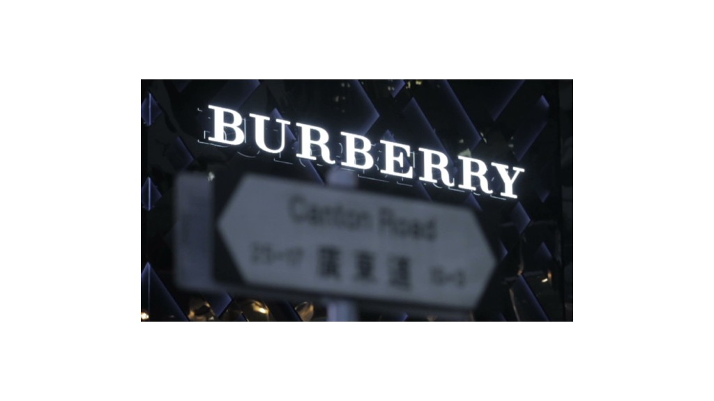 The secrets behind Burberry's growth