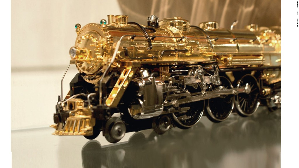 2000 Gold Plated Trainmaster 100 Years Of Lionel S
