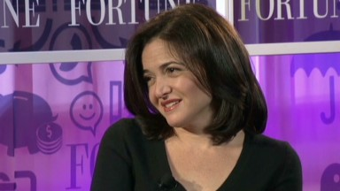 Sheryl Sandberg on women vs. men