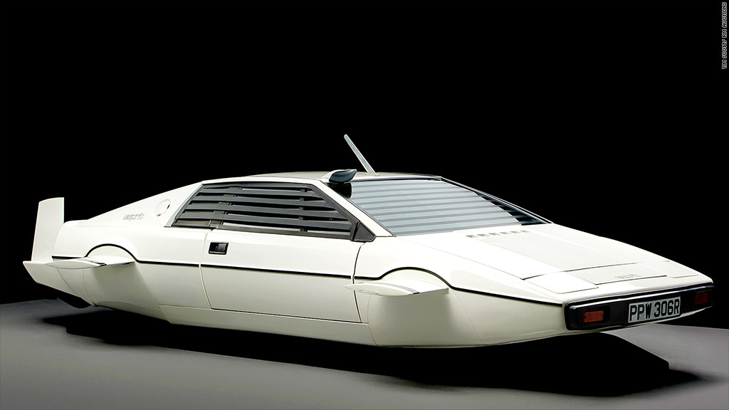 james bond submarine car auction