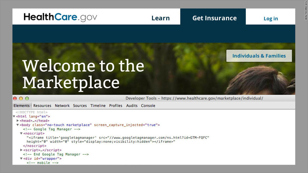 healthcare gov code