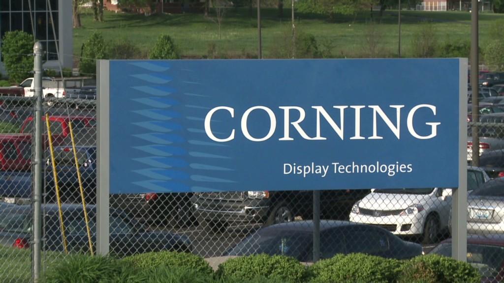 Corning is an 800-pound Gorilla (Glass)