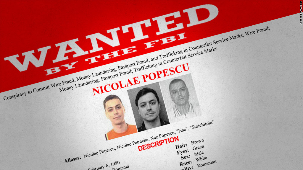 romania wanted poster