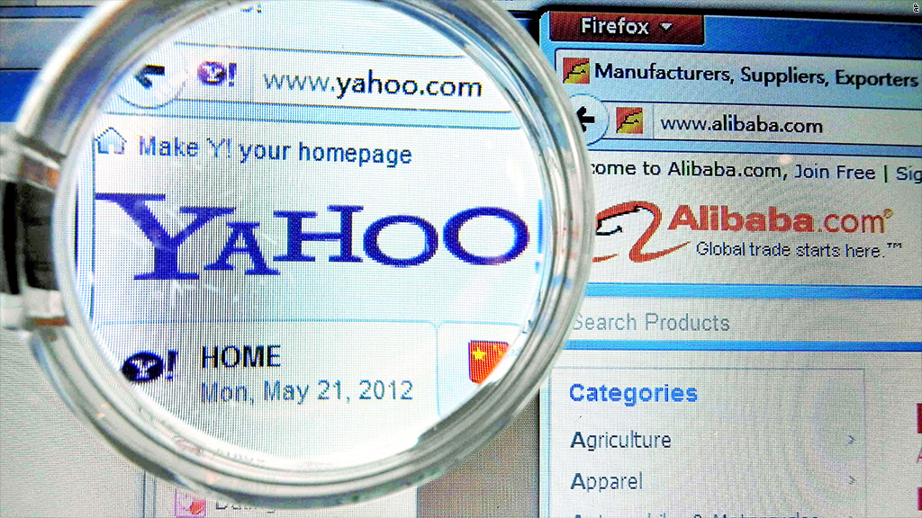 yahoo china alibaba