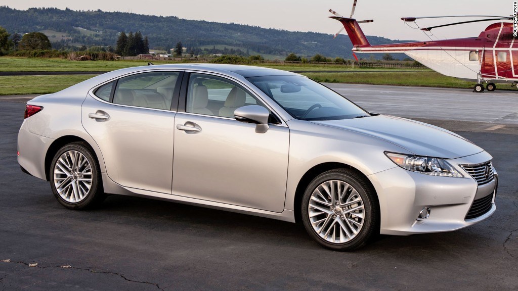 reliable cars lexus es