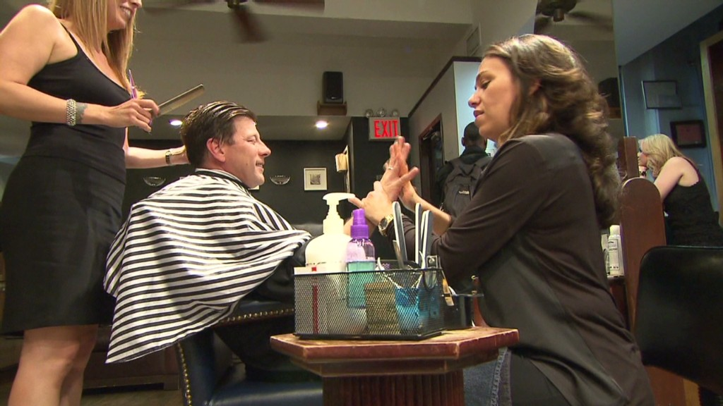 Where manicures get more manly