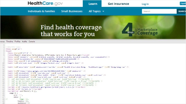 Security hole found in Obamacare website