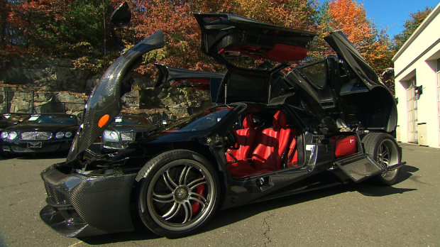 Meet the $1.7 million Pagani Huayra - Video - Personal Finance