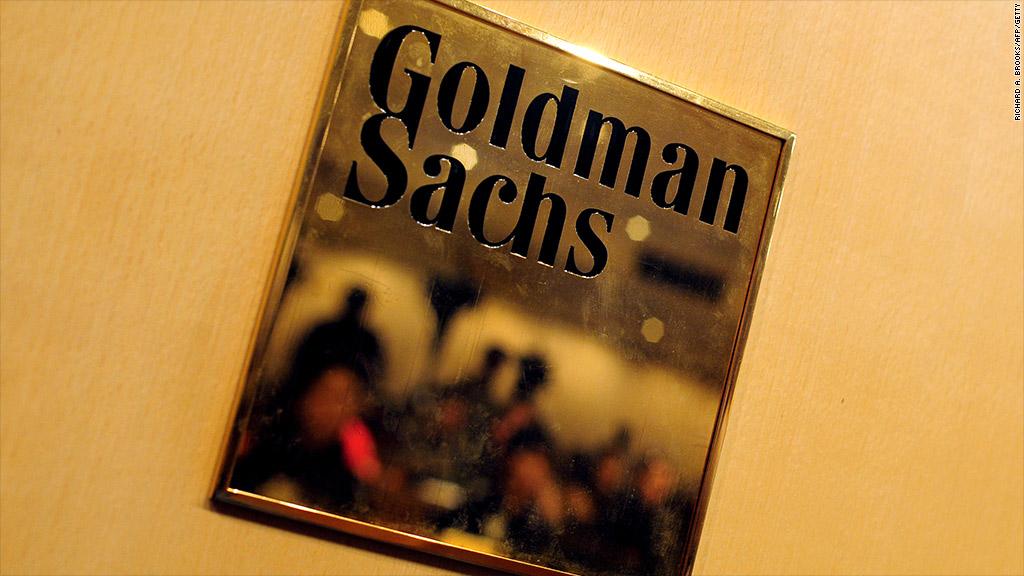 goldman sachs junior bankers