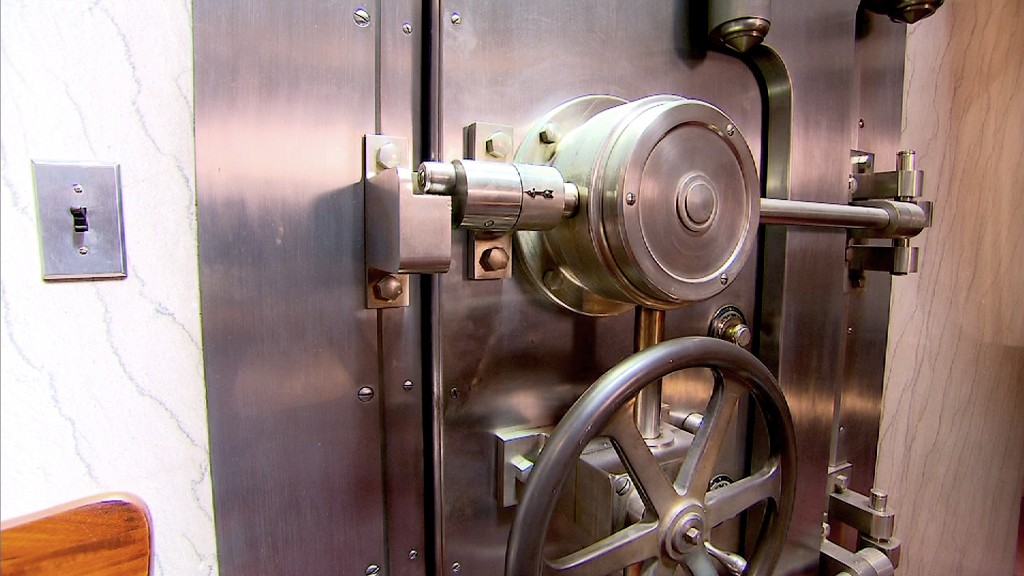 unique homes bank vault door