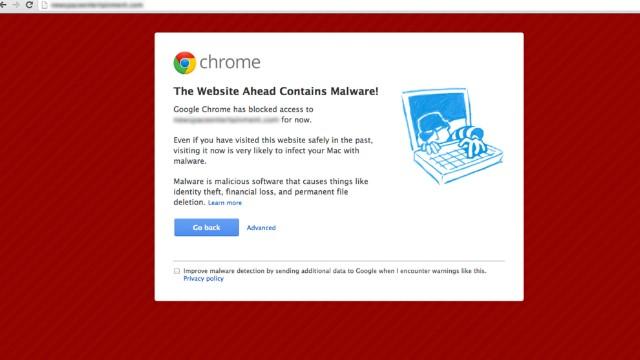 Google's dreaded 'blacklist'