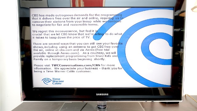 Time Warner Cable lost 300,000 subscribers amid CBS blackout