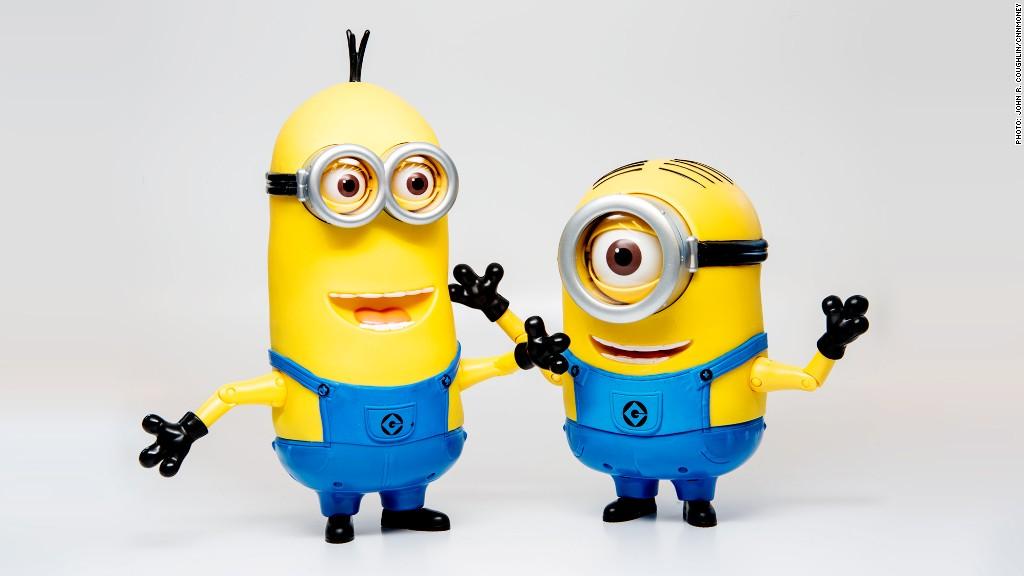 hot toys talking minions