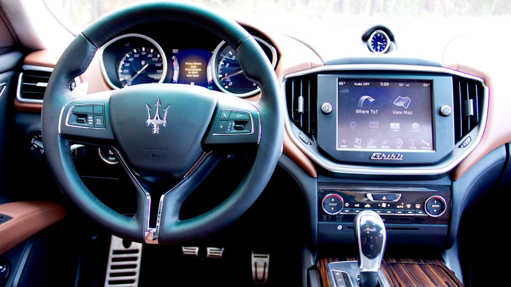 Soft Spots On The Inside Maserati Ghibli Easier Access