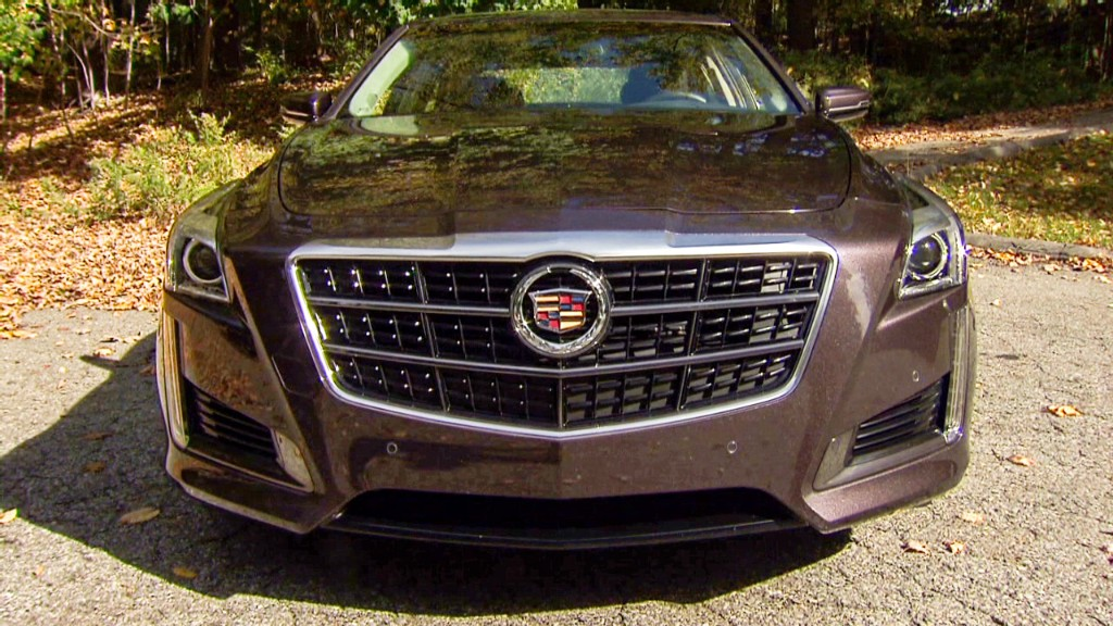 Cadillac CTS: Bigger and better