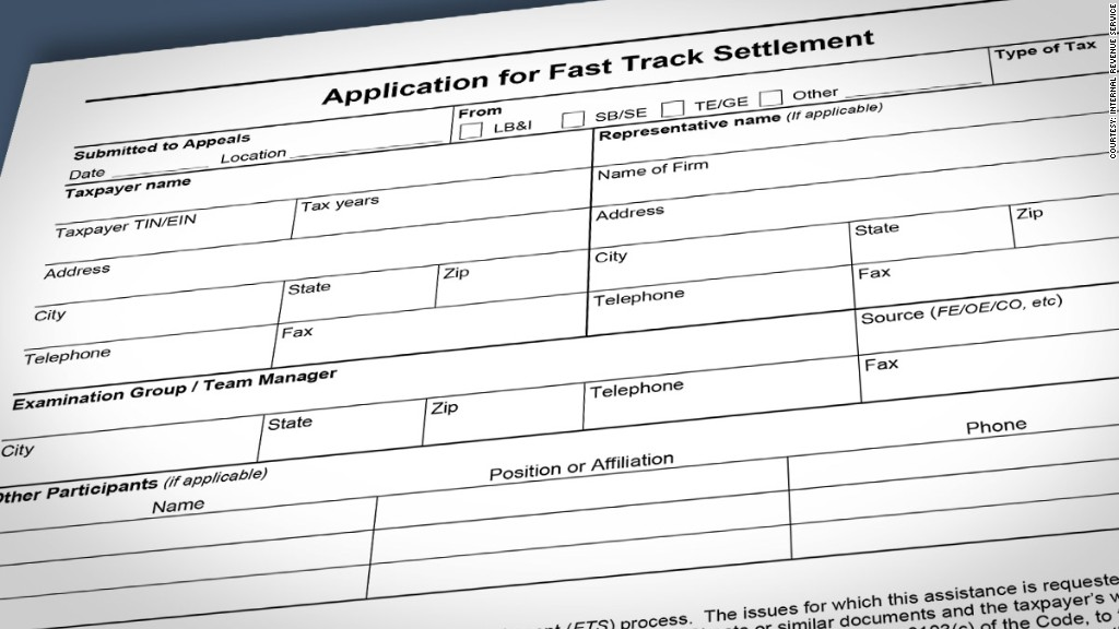 fast track settlement