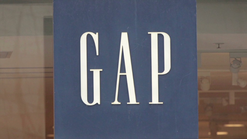 Khakis are back! Gap up on strong sales