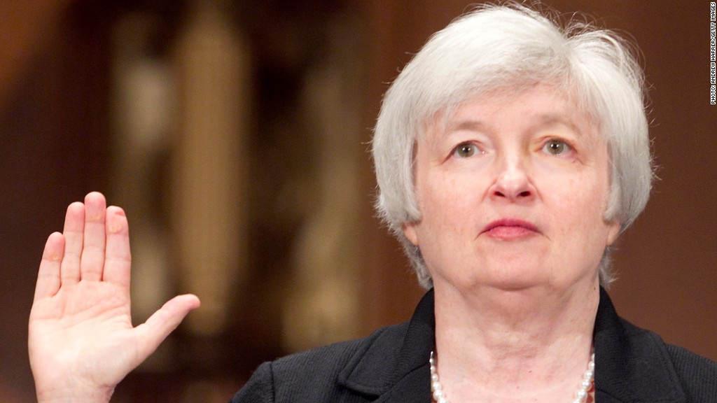 janet yellen hearing