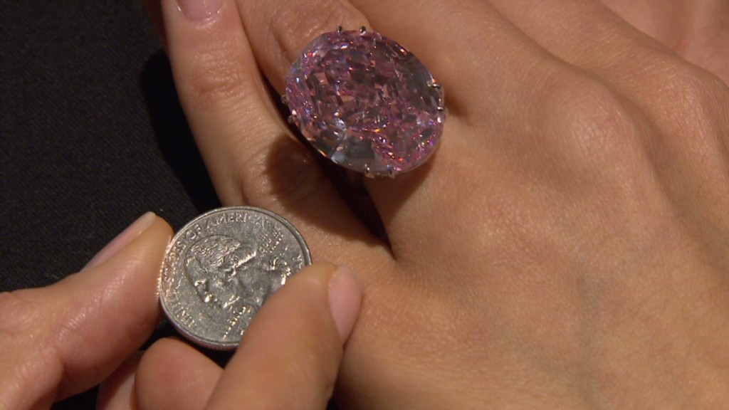Up close with the $83 million diamond