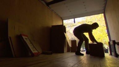 Veterans flex muscles in moving company