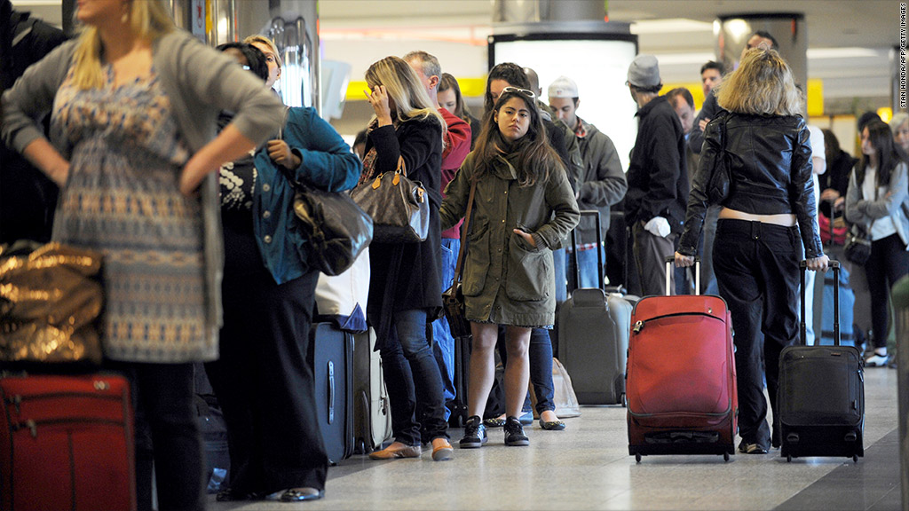 airfares airport line