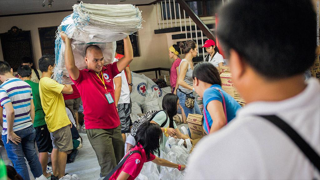 philippines fund raising