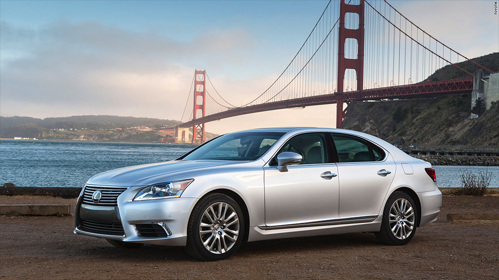 best resale value 2014 lexus ls 460
