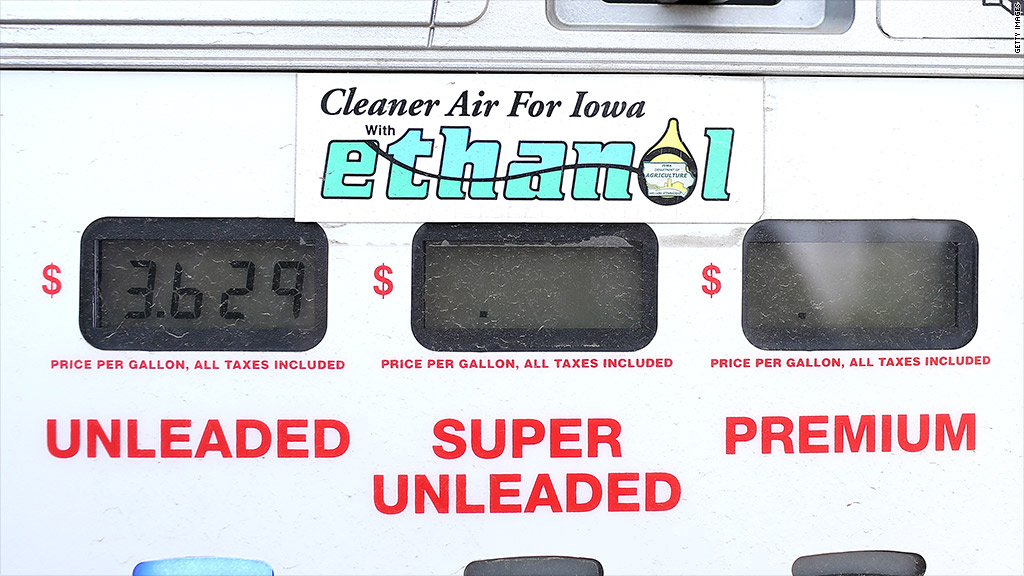 ethanol requirements