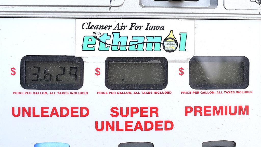 ethanol requirements