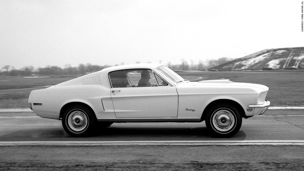 1968 428 Cobra Jet - 12 most important Ford Mustangs - CNNMoney