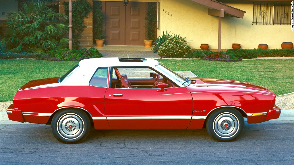 Latest Ford Mustang >> 1974 - 78 Mustang II - 12 most important Ford Mustangs - CNNMoney