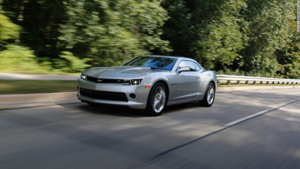 Sports car Chevrolet Camaro V6 - Best Resale Value cars - CNNMoney