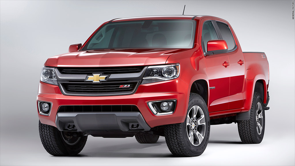 Chevy colorado beats f 150 for truck of the year for Ford motor company pension calculator