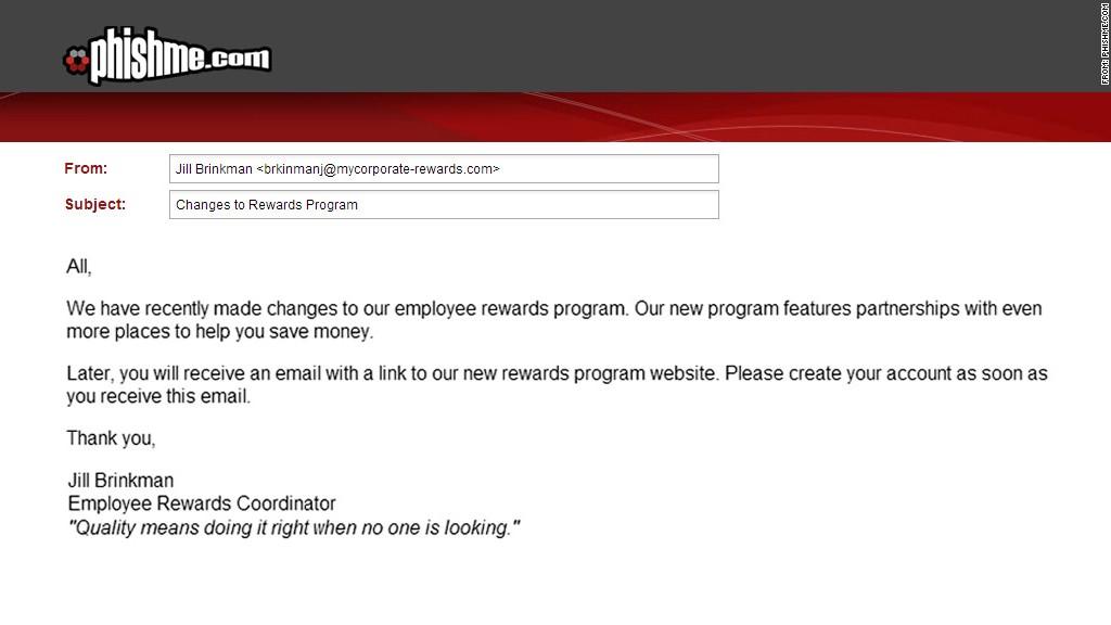 Phishing Examples 2013 Spear Phishing - 6 mos...