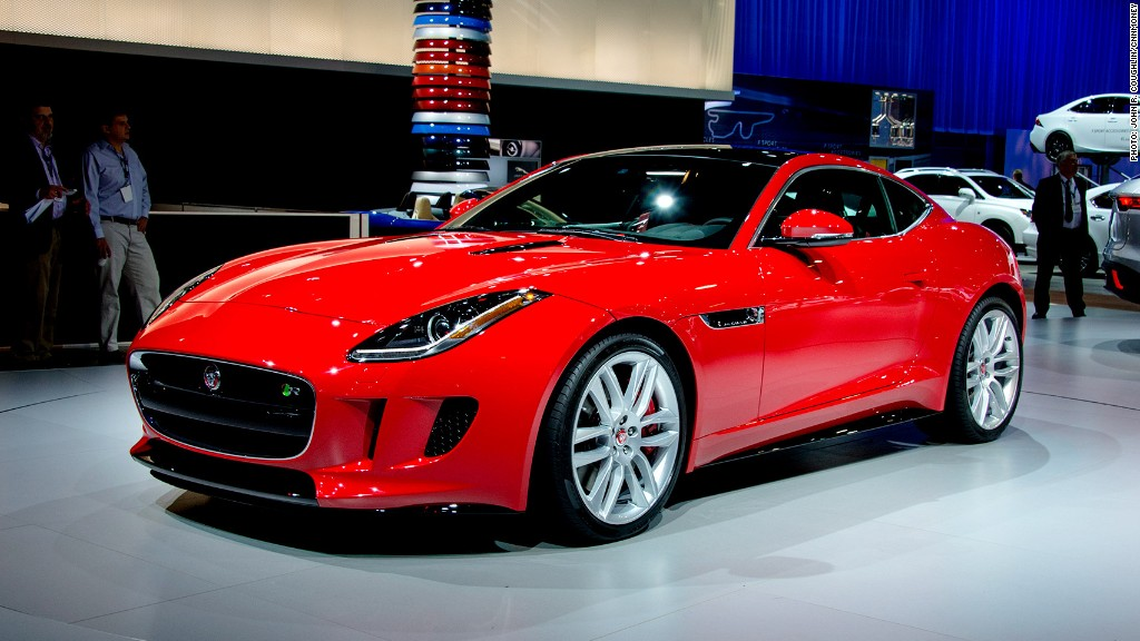 Jaguar F-type coupe - Cool cars from the L.A. Auto Show ...
