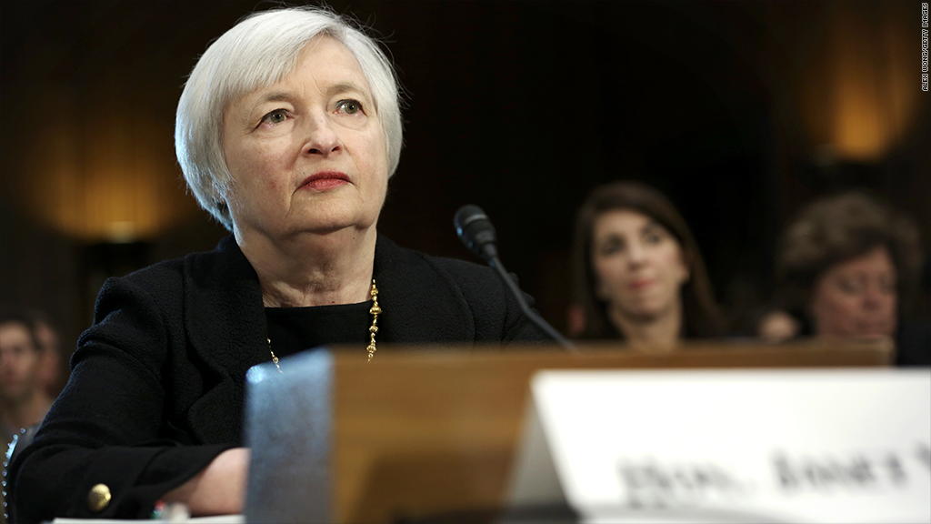 janet yellen nomination vote