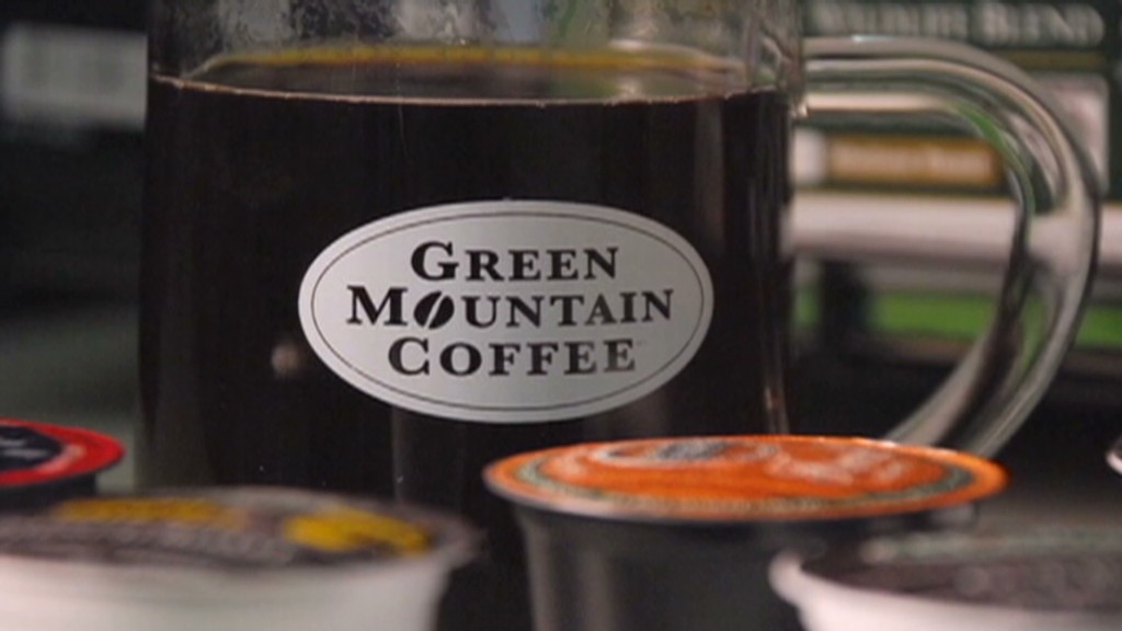 Green Mountain's caffeine rush
