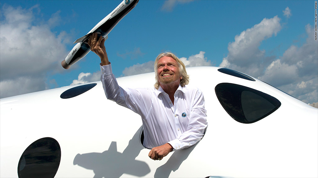 richard branson virgin galactic