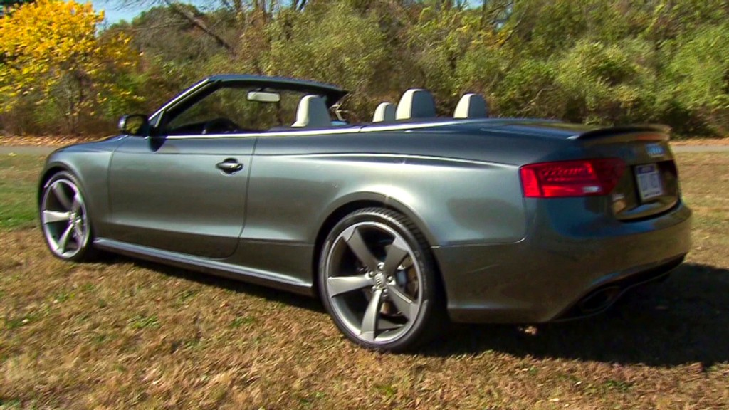 Audi RS5: Speed and style in the open air