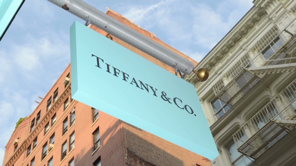 Tiffany sparkles in China and Japan